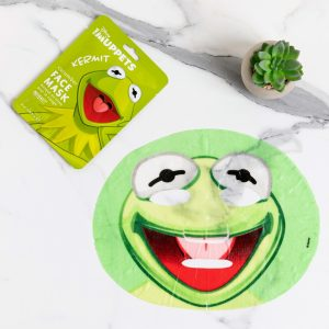 The Muppets Kermit Sheet Face Mask From Mad Beauty