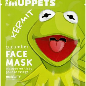 The Muppets Mad Beauty – Kermit Face Masks Green