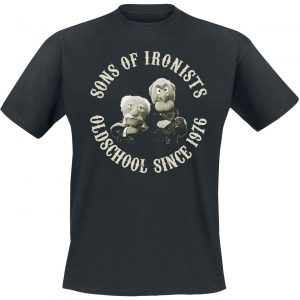 The Muppets Sons Of Ironists T-Shirt Black