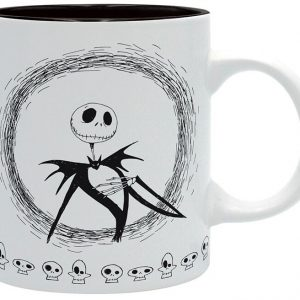 The Nightmare Before Christmas Jack Cup Black White