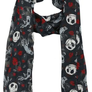 The Nightmare Before Christmas Jack Skellington – Ghost & Roses Cloth Multicolour