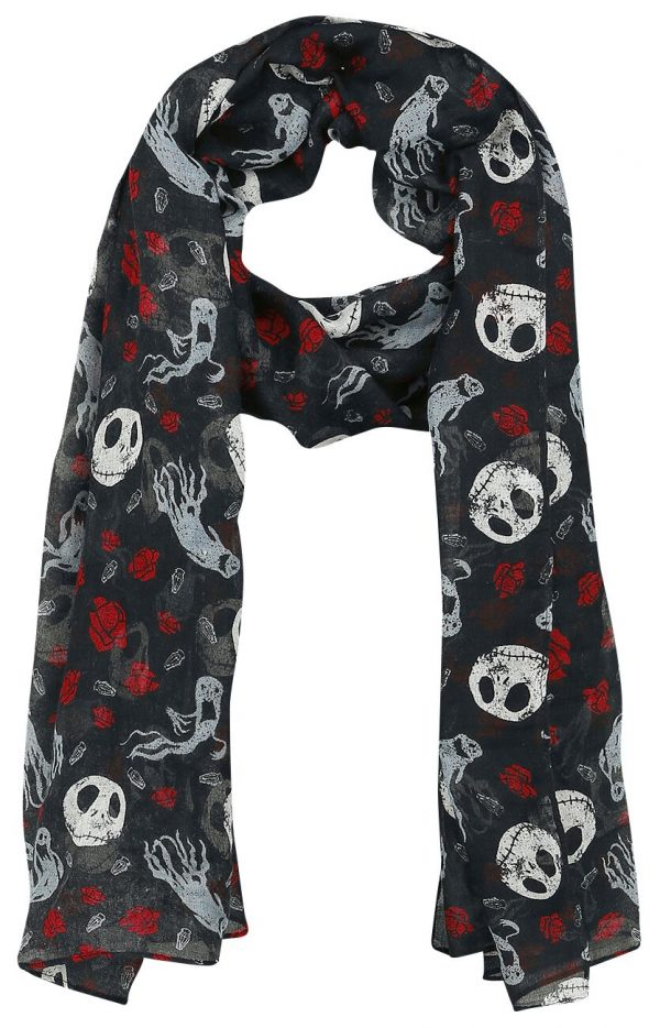 The Nightmare Before Christmas Jack Skellington - Ghost & Roses Cloth multicolour