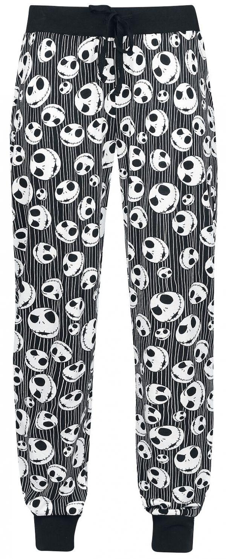The Nightmare Before Christmas Jack Skellington - Skulls Pyjama Pants black