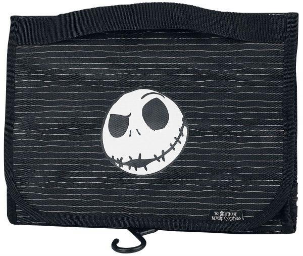 The Nightmare Before Christmas Jack Skellington Toilet bag black white