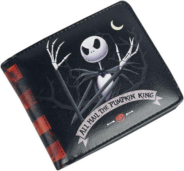 The Nightmare Before Christmas Jack Wallet black
