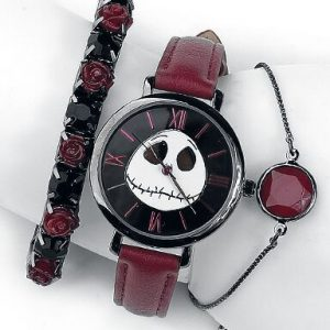 The Nightmare Before Christmas Jack Wristwatches Purple Black