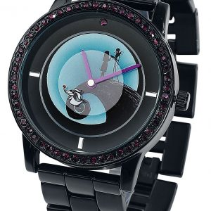 The Nightmare Before Christmas Jack And Sally Wristwatches Black