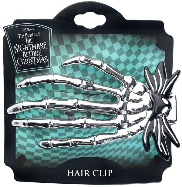 The Nightmare Before Christmas Jack's Hand Hairslide silver coloured