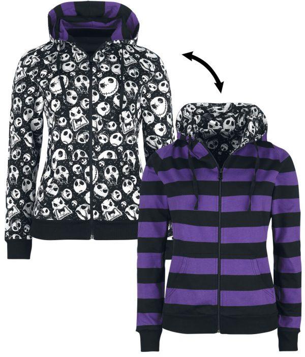 The Nightmare Before Christmas Moonlight Madness Hooded zip multicolour