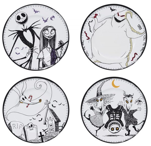 The Nightmare Before Christmas Plate Set Plate multicolour