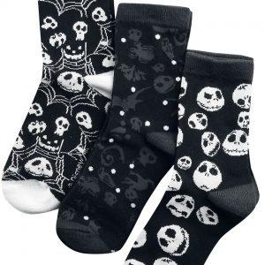 The Nightmare Before Christmas Skulls And Cobwebs Socks Multicolour