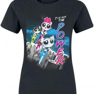 The Powerpuff Girls I've Got The Power T-Shirt Black