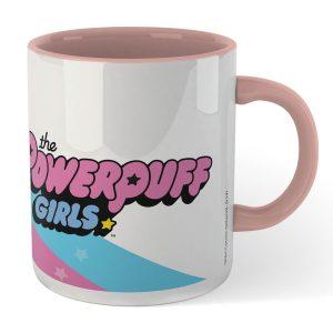 The Powerpuff Girls The Powerpuff Girls Pink Mug – White/Pink