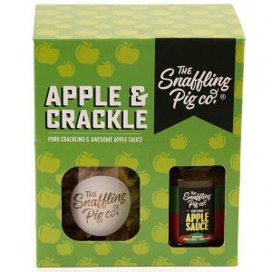 The Snaffling Pig Apple & Crackle Gift Set
