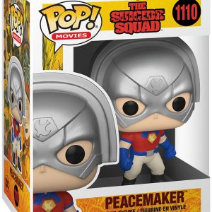 The Suicide Squad Peacemaker Vinyl Figure 1110 Funko Pop! Multicolor