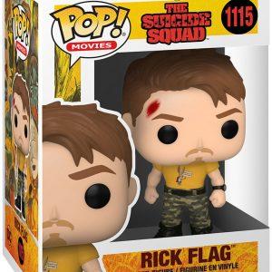 The Suicide Squad Rick Flag Vinyl Figure 1115 Funko Pop! Multicolor