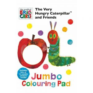 The Very Hungry Caterpillar Colouring Pad
