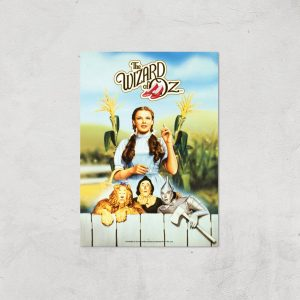 The Wizard Of Oz Giclee Art Print – A4 – Print Only