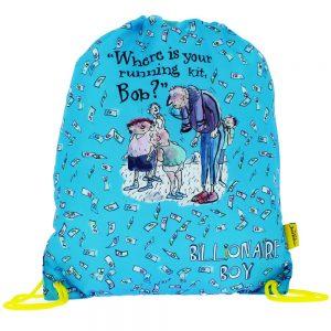 The World Of David Walliams Billionaire Boy Trainer Bag
