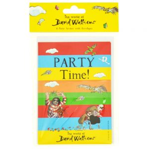 The World Of David Walliams Party Invites With Envelopes: Pack Of 8