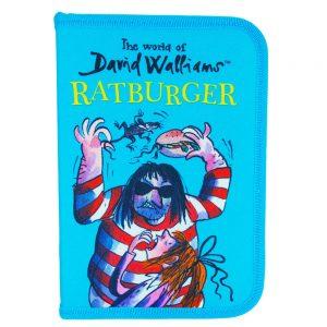 The World Of David Walliams Ratburger Filled Pencil Case