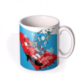 Tom And Jerry Movie Thrill Of The Chase Mug By Moonpig, Gift Set – Delivery Available