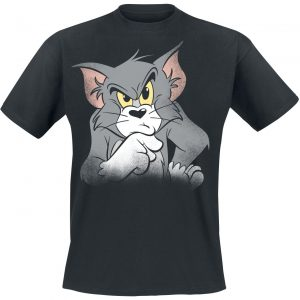 Tom And Jerry Seriously T-Shirt Black