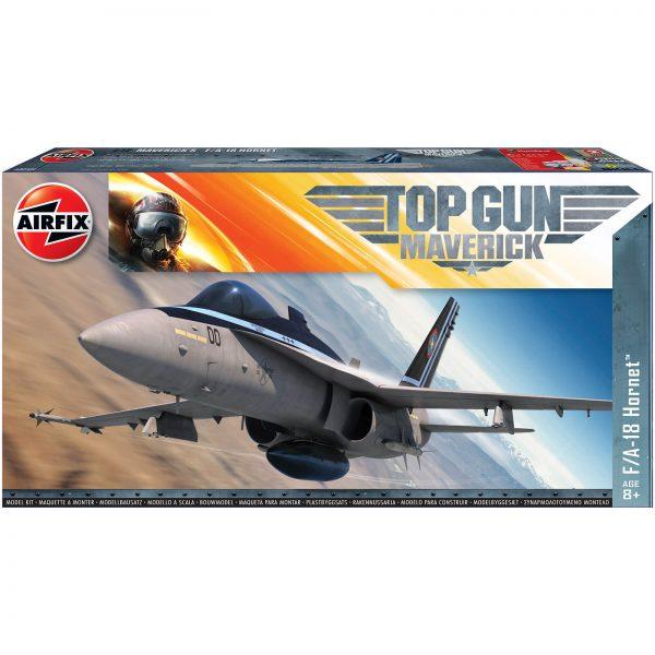 Top Gun Maverick's F-18 Hornet Plastic Model Kit - Scale 1:72