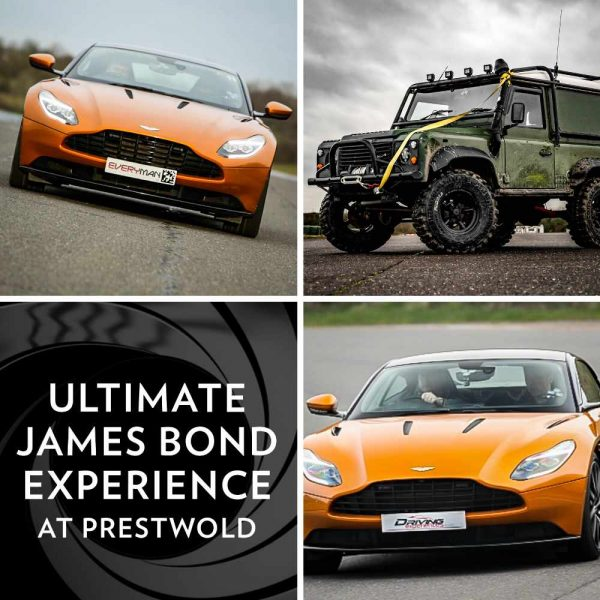 Ultimate James Bond Driving Experience at Prestwold