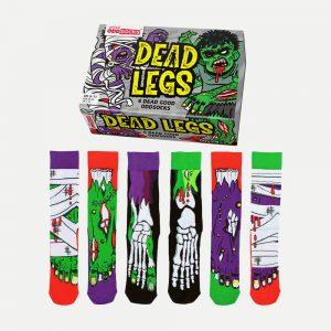 United Oddsocks Dead Legs Socks – Pack Of 6