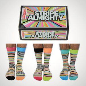 United Oddsocks Stripe Almighty Socks
