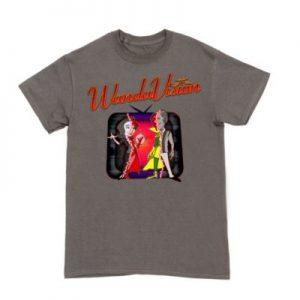 WandaVision Halloween Customisable T-Shirt Mens, Dark Grey – From ShopDisney