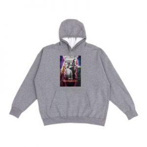 WandaVision Poster Customisable Hooded Sweatshirt Mens, Grey – From ShopDisney