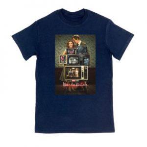 WandaVision Television Customisable T-Shirt Mens, Navy Blue – From ShopDisney