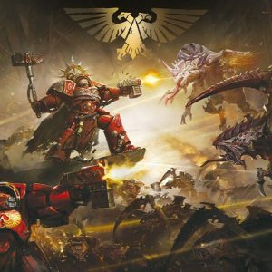 Warhammer 40,000 The Battle Of Baal Poster Multicolour