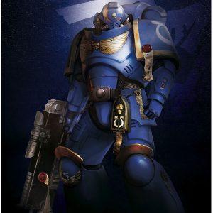 Warhammer 40,000 Ultramarines Poster Multicolour