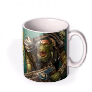 Warhammer Ere We Go Ork Mug By Moonpig, Gift Set – Delivery Available