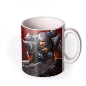 Warhammer Fortune Favours The Faithful Mug By Moonpig, Gift Set – Delivery Available