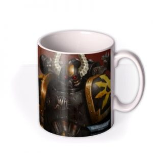 Warhammer Let The Chaos Commence Photo Upload Mug By Moonpig, Gift Set – Delivery Available