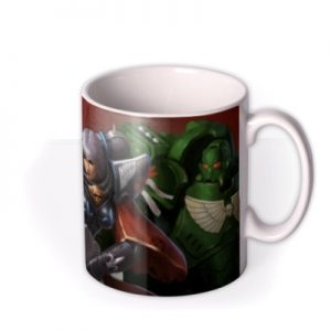 Warhammer Ultramarine Sister Of Battle And Dark Angel Mug By Moonpig, Gift Set – Delivery Available