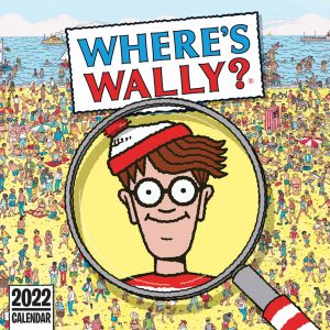 Where's Wally Calendar 2022