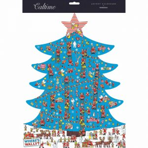 Where's Wally, Christmas Tree Advent Calendar
