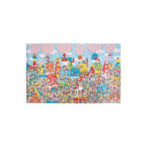 Where's Wally? Double-Sided Mystery Puzzle