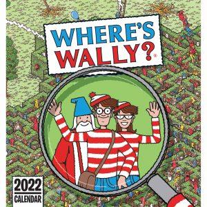 Where's Wally Easel Desk Calendar 2022