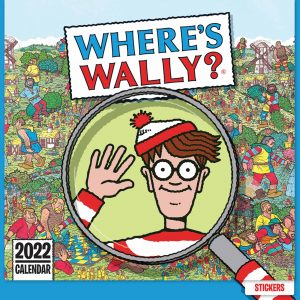 Where's Wally Family Planner 2022