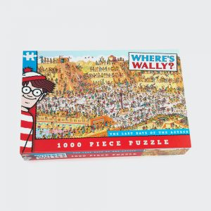 Where's Wally Last Days Of The Aztecs 1000 Piece Puzzle