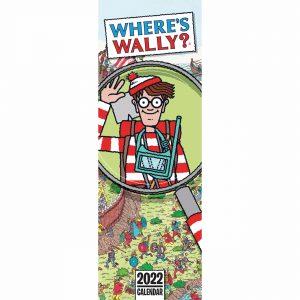 Where's Wally Slim Calendar 2022