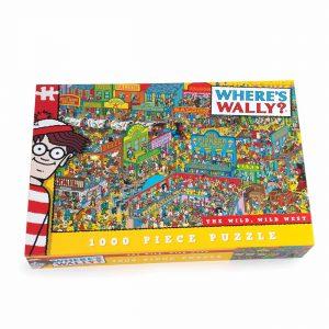 Where's Wally, Wild Wild West Jigsaw