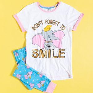 Women's Dumbo Don't Forget To Smile Disney Pyjamas