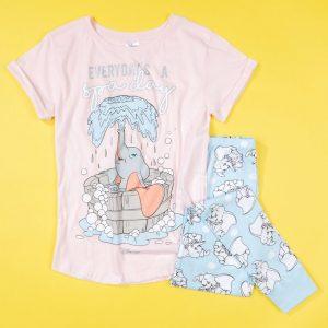 Women's Dumbo Everyday's A Spa Day Disney Pyjamas